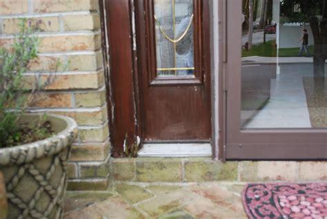 front door water damage page  masonry contractor talk