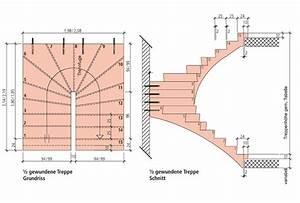 Beton Berechnen : treppenhaus grundriss ma e ~ Themetempest.com Abrechnung
