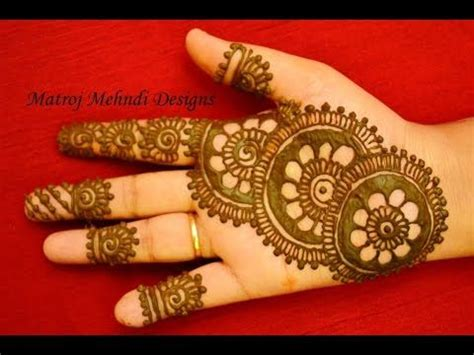 (23) New Stylish Simple Easy Mehndi Henna Designs For
