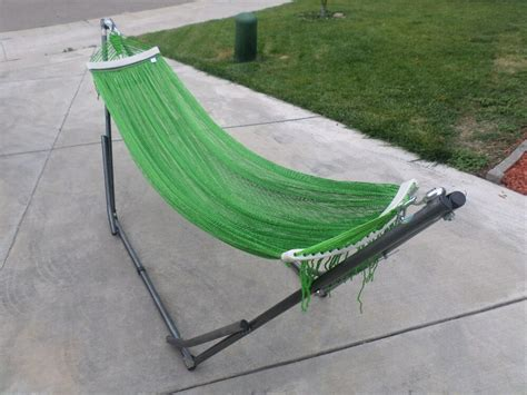 Hammock And Frame by Indoor Outdoor Hammock Swing Bed Med Duty Metal