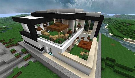 modern house  style minecraft build  minecraft