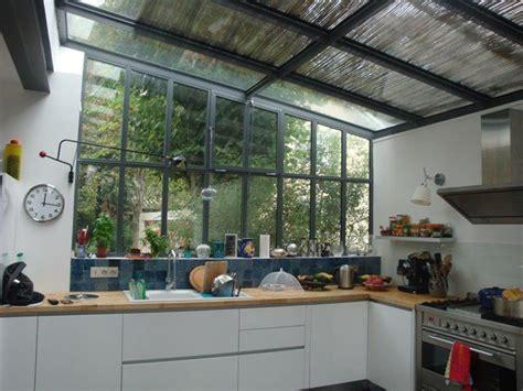 extension cuisine sur jardin cuisine verrière donnant sur jardin extension la maison
