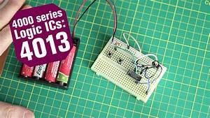 4000 Series Logic Ics   The 4013 Dual D