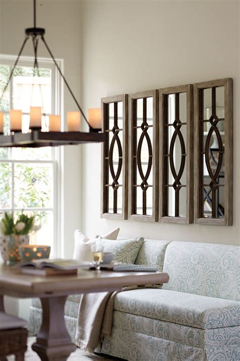 mirror sets wall decor decorating with architectural mirrors living room ideas
