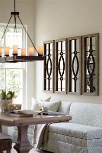 decorating with architectural mirrors decorating room With how to decorate a dining room wall