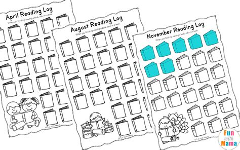 reading log   book report templates fun  mama