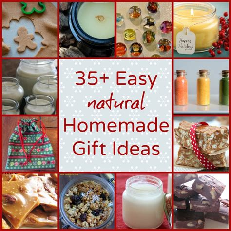 35+ Easy Natural Homemade Gift Ideas  Natural Family Today