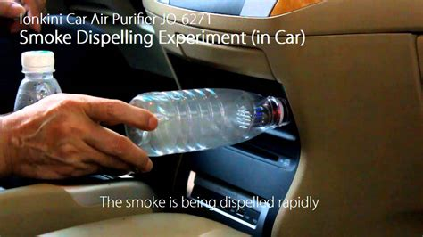 ozone air purifier ionkini car air purifier ionizer jo 6271 smoke dispelling
