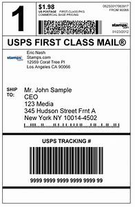 usps postage rates archives With first class mail label