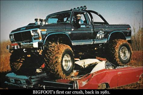 original bigfoot monster the original bigfoot monster truck 4x4 pinterest
