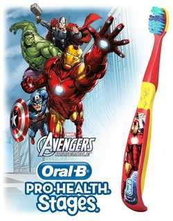 Amazon.com : Oral-B Pro-Health Stages Marvel Avengers