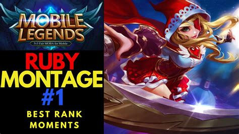 Mobile Legends Ruby Montage Best Rank Moments