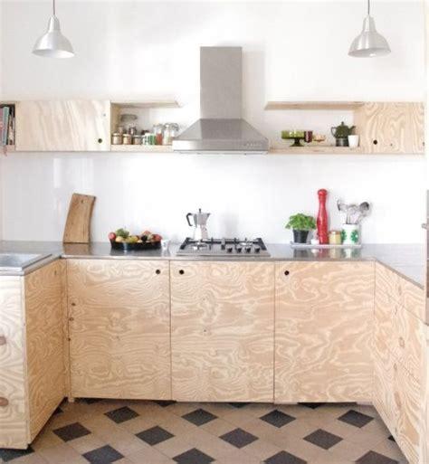 panneau adh駸if cuisine materiau tendance zoom sur le bois osb plywood interiors and diy décorangement