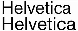 what are the characteristics of the helvetica typeface With helvetica letters