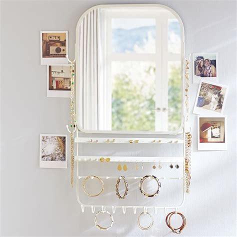 the door jewelry organizer the door jewelry organizer mirror pbteen