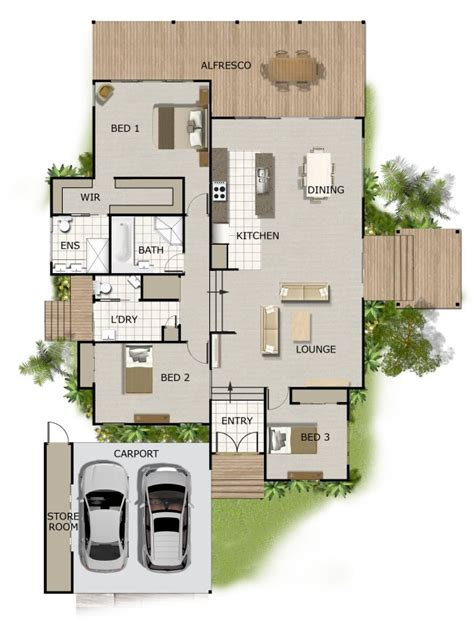 split level house plan split level house plan on timber floor australian houses