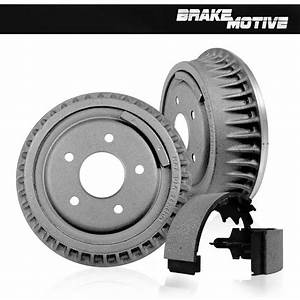 Rear Brake Drum  U0026 Shoes For 2005 2006 2007 2008 Chevy Silverado 1500 Sierra 1500