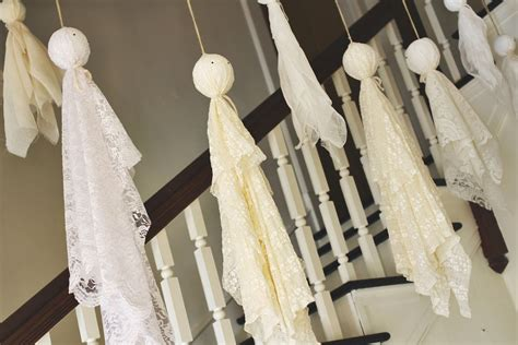 Super Easy Ghost Decorations - A Beautiful Mess