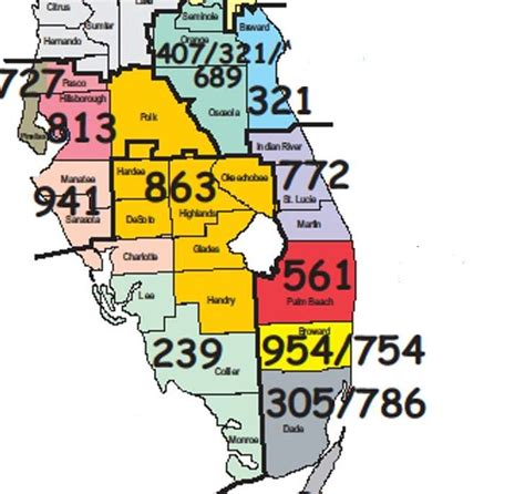 Post Time: Palm Beach County's area codes; 305, 407, 561 ...