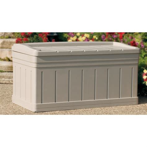suncast 174 ultra large deck box 138433 patio storage at