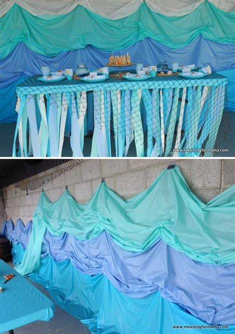Decorating Ideas Using Plastic Tablecloths by Decorating With Plastic Tablecloths Table Ideas
