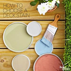 Deck Stain Colors - Better Homes and Gardens - BHG com