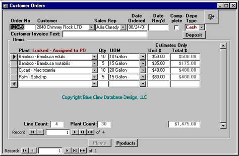 Microsoft Access Form Design Guide