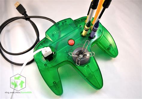 Video Game Controllers Upcycled Into Office Supplies Bit