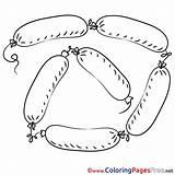 Coloring Sausages Pages Printable Coloriage Saucisses Sheet Fr Dessin Sheets Clip Illustration Google Title Recherche Resultat Pour Depuis Enregistree sketch template