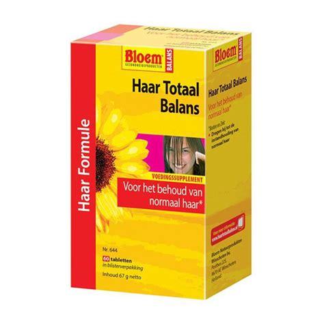 bloem haar totaal balans ingredienten bloem haar totaal balans 60tab voordelig online kopen