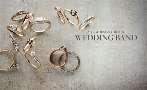 A Brief History Of Wedding Bands & Rings