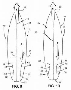 Patent us20080311806 low drag fin and foil system for for Surfboard fin template