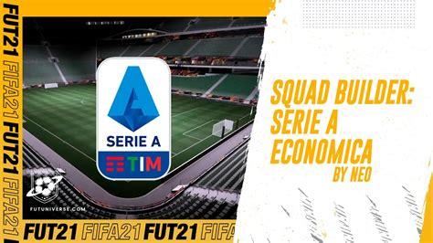 Milan e inter dominano la scena. FIFA 21: Squad Builder Serie A Economica per FUT!