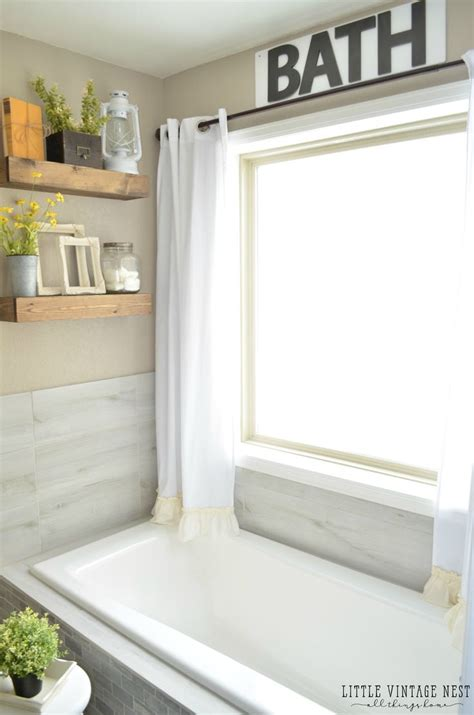 Bathroom Valance Ideas by The 25 Best Bathroom Window Curtains Ideas On