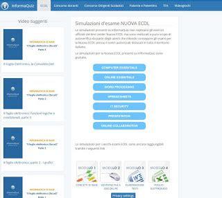 Modulo 1 Ecdl Dispense by Prepararsi A Ecdl Con Dispense E Simulatori Gratis