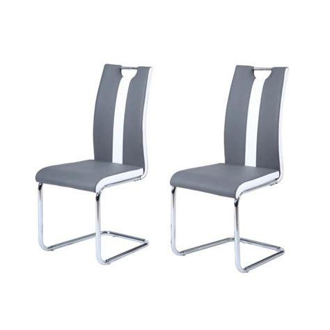 chaise de cuisine blanche et grise chaise id 233 es de