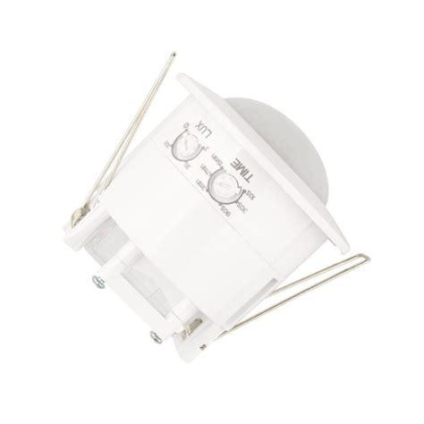 detecteur de mouvement plafond encastrable d 233 tecteur de pr 233 sence encastrable plafond pir 360 176 224 petit prix