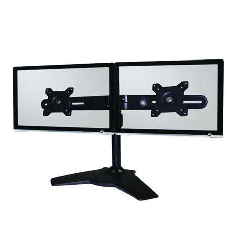 le bureau usb ldlc support de bureau pour 2 écrans plats de 15 quot à 24