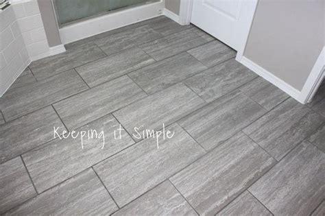 vintage kitchen flooring how to tile a bathroom floor with 12x24 gray tiles hometalk