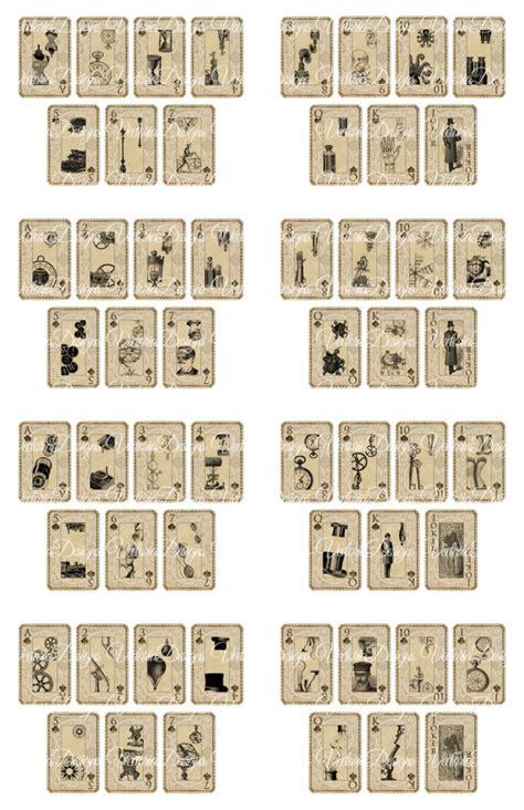 Printable Mini Playing Cards Printable Cards