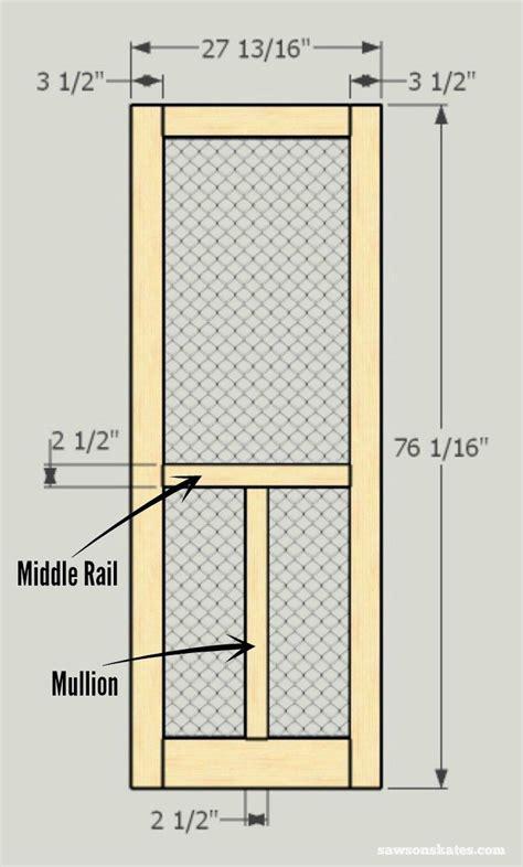 diy wood screen door   home diy screen door