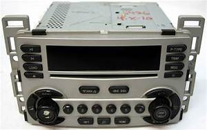 Chevy Equinox 2005 Factory Stereo 6 Disc Changer Cd Player