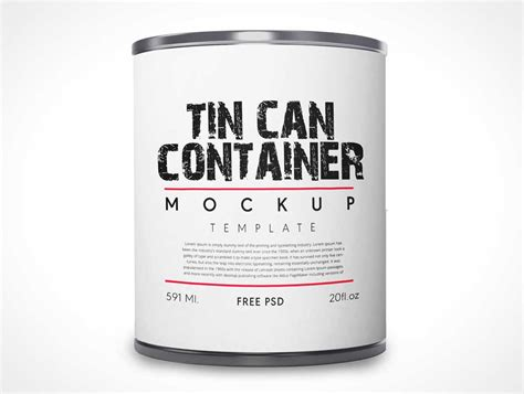 Vhite vector paint bucket mockup. 10+ Paint Bucket / Can Packaging Mockups   Decolore.Net