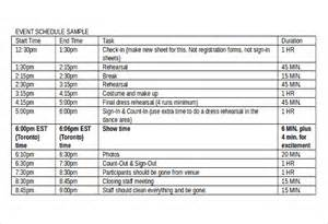 wedding schedule of events 13 event order templates free sle exle format free premium templates