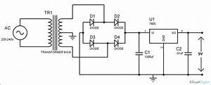 Cell Phone Charger Circuit Diagram In 2019