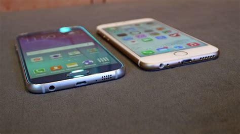 samsung galaxy s6 vs iphone 6 samsung galaxy s6 vs iphone 6 which is better review