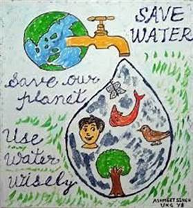 Poster for water conservation … | Pinteres…