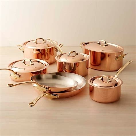 top  copper cookware  glass top stove ground report