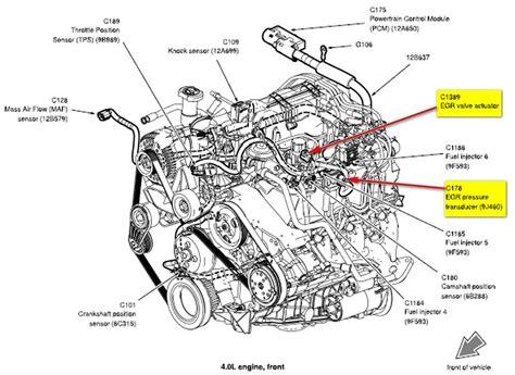 Ford Explorer Engine Diagram Automotive Parts