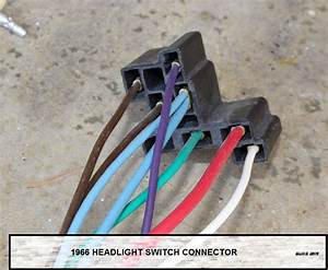 Headlight Motor Switch Wire Color Codes - Corvetteforum